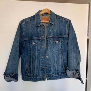 Levi's Original Denim Trucker Jacket Size XS